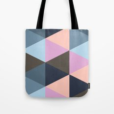 Triangle Meltdown Tote Bag