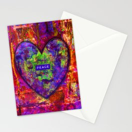 HEARTFUL OF PEACE Stationery Cards