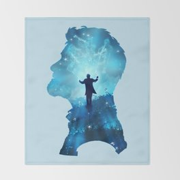 Dream  Conductor Throw Blanket