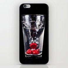 Kiss Glass iPhone & iPod Skin