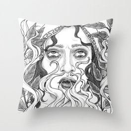Steambreather Throw Pillow