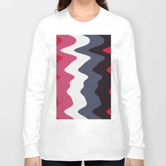 Abstract lines 23 Long Sleeve T-shirt