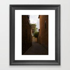 Streets of Italy Framed Art Print