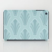 mid century modern iPad Cases featuring Mid-Century Modern Shell by Pat Giancontieri -Artzlady-