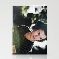 harry styles Stationery Cards featuring Harry Styles  by Becca / But-Like-How