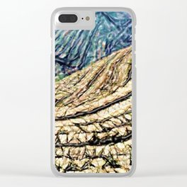 Terraces Above and Below Clear iPhone Case