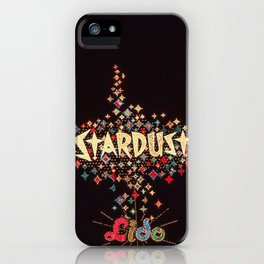 Stardust Hotel Sign iPhone Case