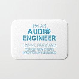 AUDIO ENGINEER Bath Mat