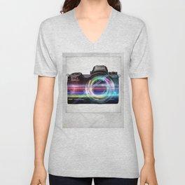 polaroids / camera Unisex V-Neck