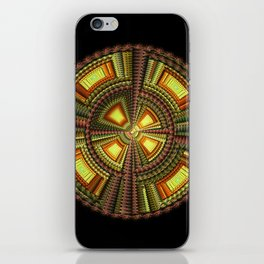Fractal Optical Sphere iPhone Skin