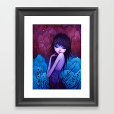 She Knows Framed Art Print