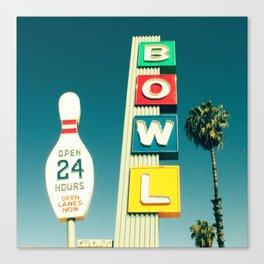 Linbrook Bowl - Anaheim, CA Canvas Print