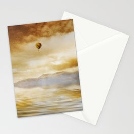 Hot Air Balloon Escape Stationery Cards