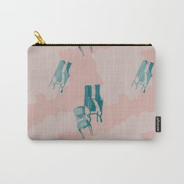 pink chairs Carry-All Pouch