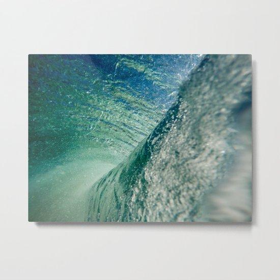 Inner Wave Break Metal Print