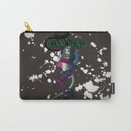 Teenage Lizard Carry-All Pouch
