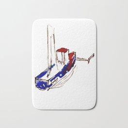 Dream Boat Bath Mat