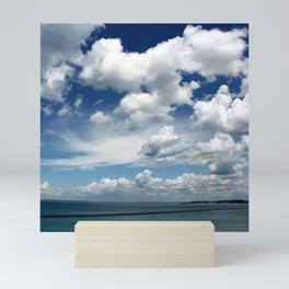 I have a blue sky inside me! Mini Art Print