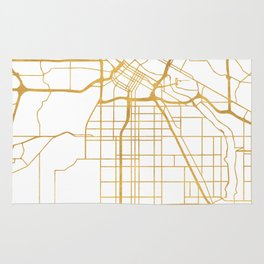 MINNEAPOLIS MINNESOTA CITY STREET MAP ART Rug