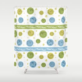 We love cats Shower Curtain