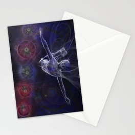 Galactic Acrobat Stationery Cards