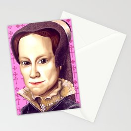 Mary Tudor, Mary I of England Stationery Cards