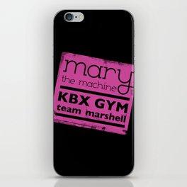Mary the Machine iPhone Skin