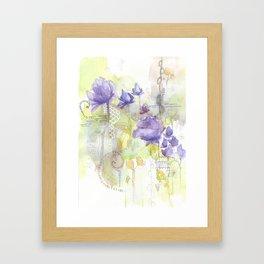 Color me Lavender Framed Art Print