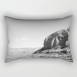 Sedona - Black and White Rectangular Pillow