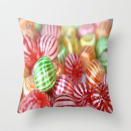 Sugar Candy Confectionary Throw Pillow