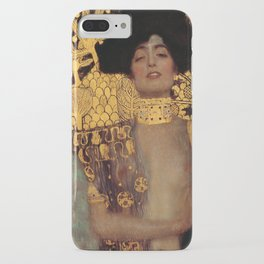 Gustav Klimt Judith and the Head of Holofernes (detail) 1901 iPhone Case