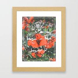Be an inspiration Framed Art Print