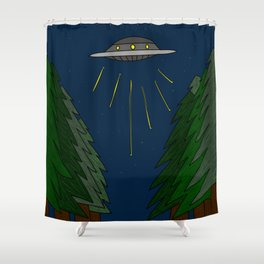 A Lapse in Time Shower Curtain
