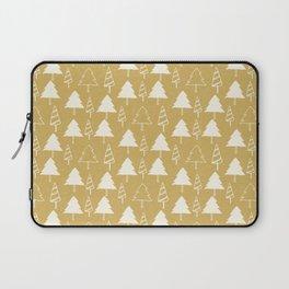 Christmas Tree Beige Laptop Sleeve