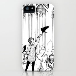 Keepers of the Forest iPhone Case