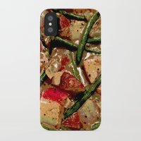 cooking iPhone & iPod Cases featuring Vegetables Cooking by Cassie Blair