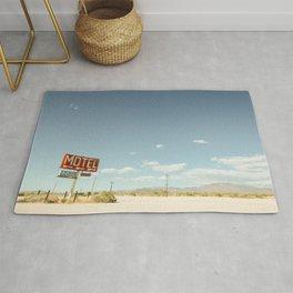 Desert Motel & Pool Sign Rug