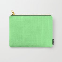 Pale Green - solid color Carry-All Pouch