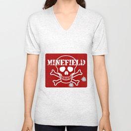 Minefield Unisex V-Neck