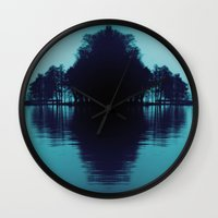 finland Wall Clocks featuring Finland Mysteries by Onaaa