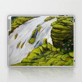 Mossy Waterfall Laptop & iPad Skin