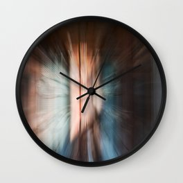 Entering another realm Wall Clock
