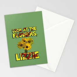 Look At The Flowers, Lizzie#3 Stationery Cards