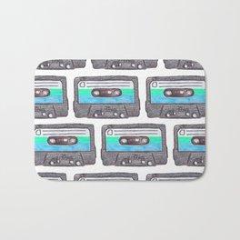 Cassette Patten *Light Blue Bath Mat