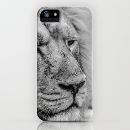 Face Of Thought iPhone Case