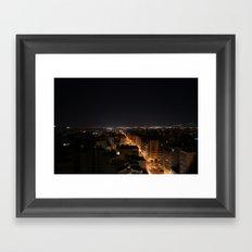 Athens Framed Art Print