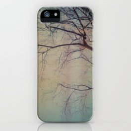 light leaked, tree. iPhone Case