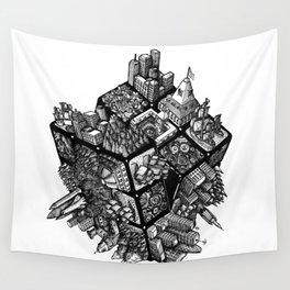Rubik's World Wall Tapestry