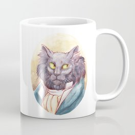 Gentleman Cat Coffee Mug