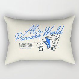 Al's Pancake World Rectangular Pillow